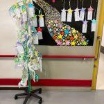 2階療養棟レク 七夕飾りのサムネイル